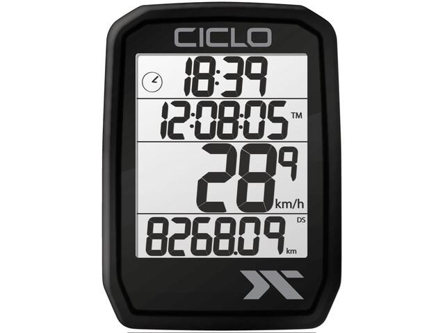 Ciclosport Protos 205 Fietscomputer, black